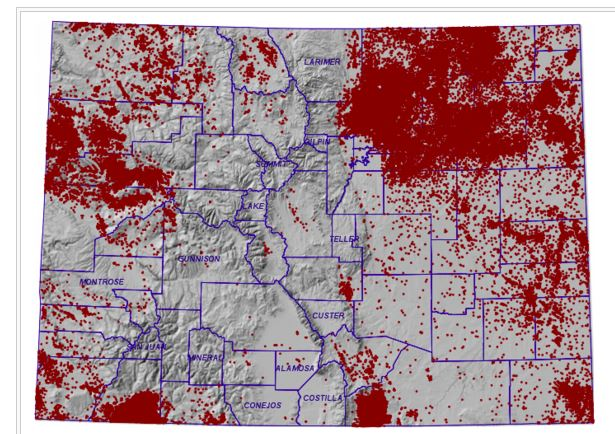 Fracking In Wyoming Map.What The Frack Is Happening In Colorado A Look Colorado S Fracking