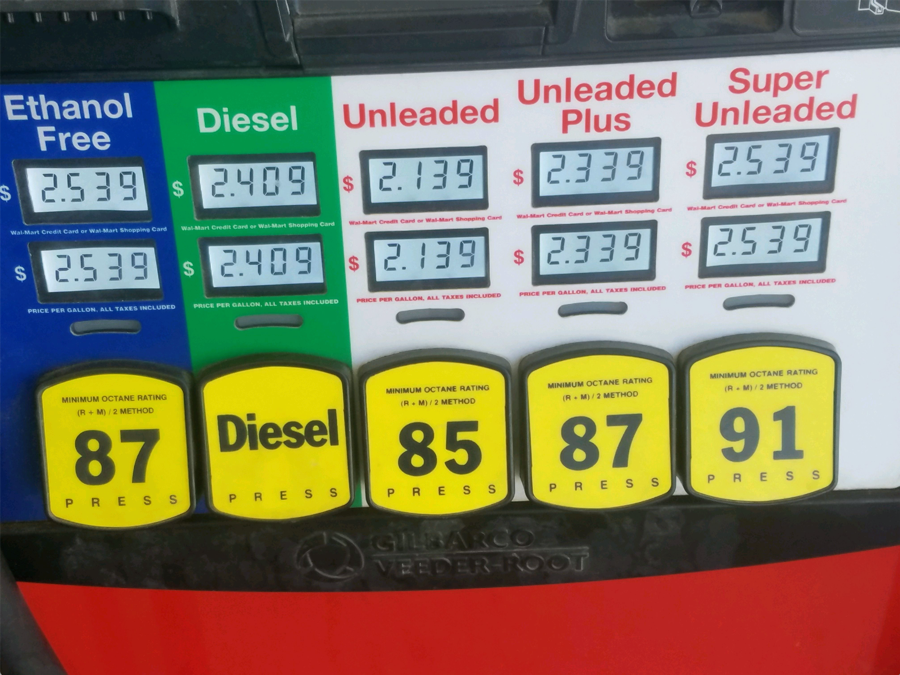 update how much ethanol free gasoline is out there stillwater